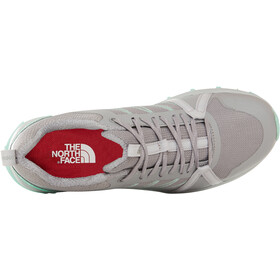 The North Face Litewave Fastpack II Calzado Mujer, meld grey/surf green